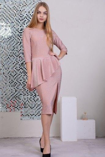 Платье 13380 (N) (Розовый) (Фото 2)