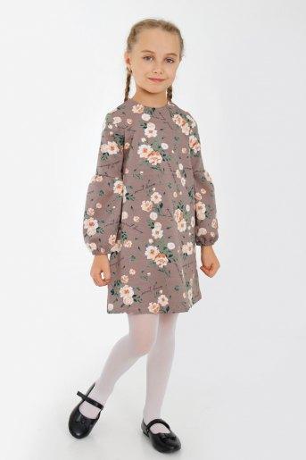 Платье Яблонька детское (N) (Коричневый) - Злата