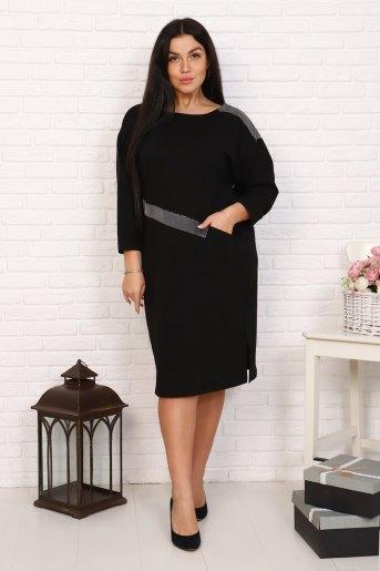 Платье 15518 (N) (Черный) - Злата