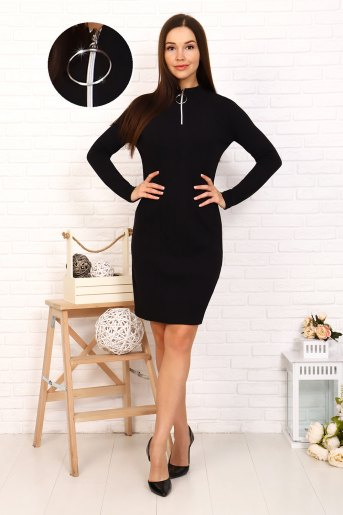 Платье 25110 (N) (Черный) - Злата