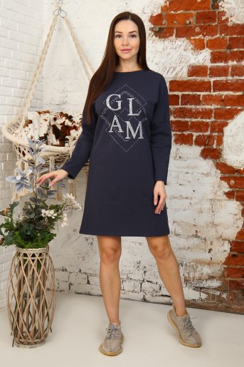 Платье 12836 (N) (Темно серый) - Злата