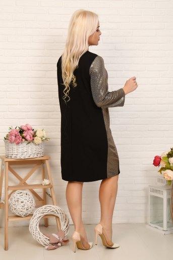 Платье 10367 (N) (Черный) (Фото 2)