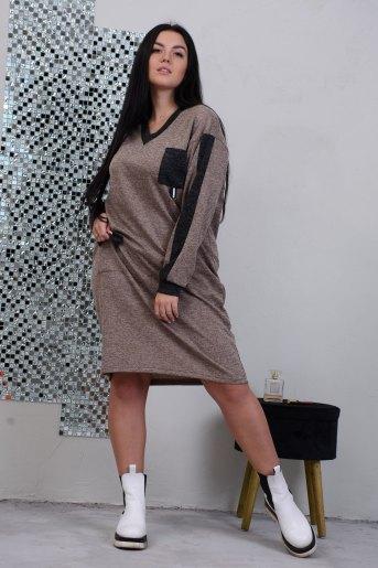 Платье 13387 (N) (Кофе) - Злата