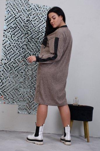 Платье 13387 (N) (Кофе) (Фото 2)