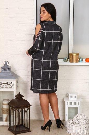 Платье 10365 (N) (Серый) (Фото 2)