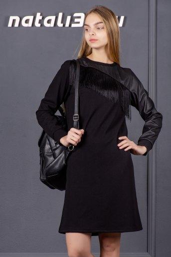 Платье 2646 (N) (Черный) - Злата
