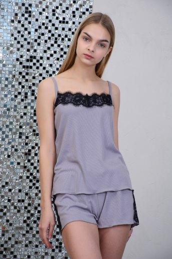 Пижама 2635 (N) (Серый) - Злата