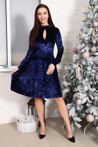 Платье 10514 (N) (Синий) - Злата