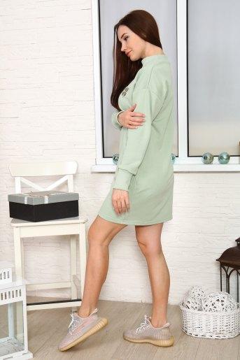 Платье 27303 (N) (Олива) (Фото 2)