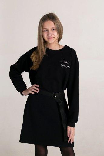 Платье 1500 (N) (Черный) - Злата