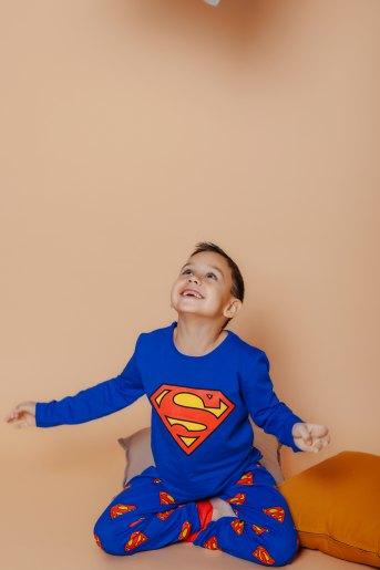Пижама 22743 детская (N) (Синий) - Злата