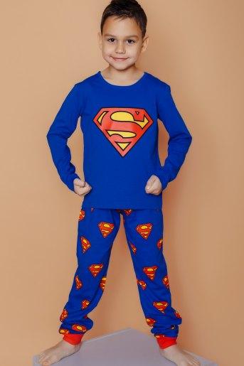 Пижама 22743 детская (N) (Синий) (Фото 2)