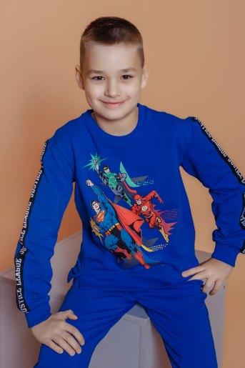 Свитшот 22744 детский (N) (Синий) - Злата