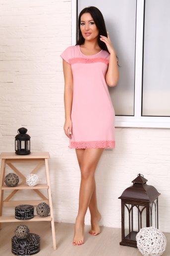Сорочка 24605 (N) (Розовый) - Злата
