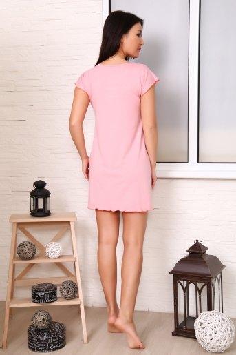 Сорочка 24605 (N) (Розовый) (Фото 2)