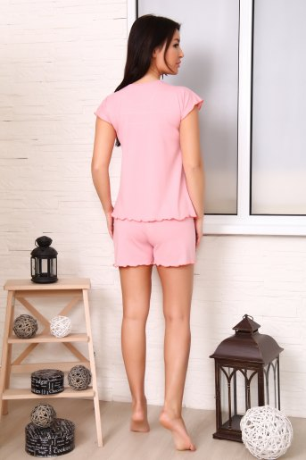 Пижама 24611 (N) (Розовый) (Фото 2)