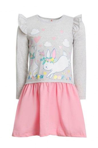 Платье Марьяна детское (N) (Светло-розовый) - Злата