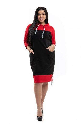 """790 Платье """"Красный"""" (ST) - Злата"""