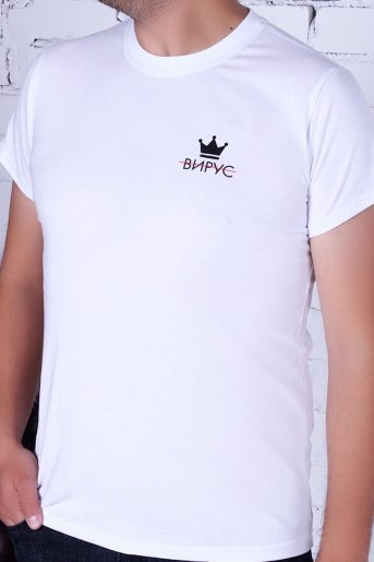 Футболка МСВ-009 (Белый) - Злата