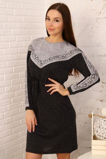 Платье 2647 (N) (Антрацит) - Злата