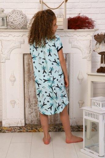 Сорочка 15084 детская (N) (Ментол) (Фото 2)