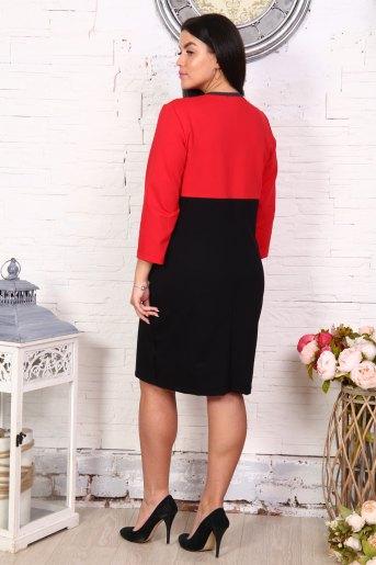 Платье Юность (N) (Красный) (Фото 2)