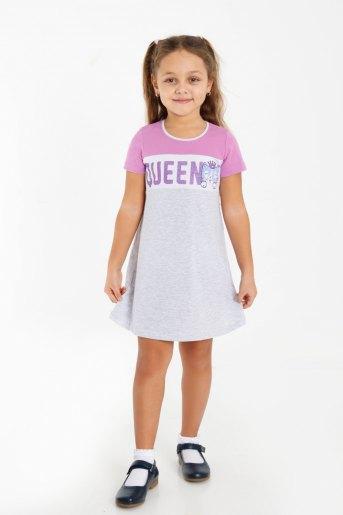Платье Девика детское (N) (Серый) - Злата