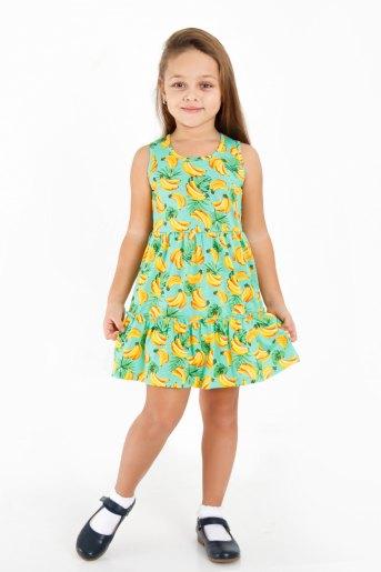 Платье Солнечный зайчик детское (N) (Мятный) - Злата