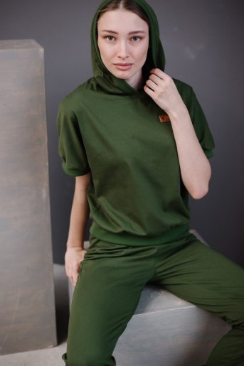 Женский костюм ЖК 033 (T) (Хаки) - Злата