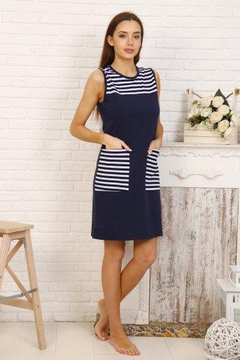Платье 5705 (N) (Темно-синий) - Злата