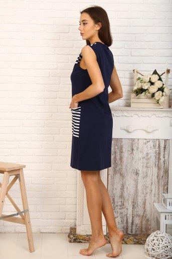 Платье 5705 (N) (Темно-синий) (Фото 2)