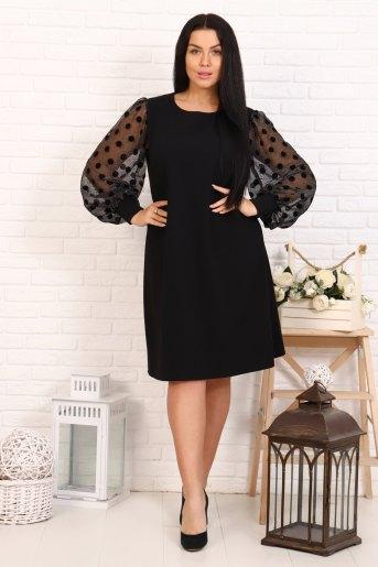Платье 4640 (N) (Черный) - Злата