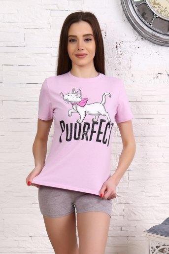 Пижама 12847 (N) (Розовый) - Злата