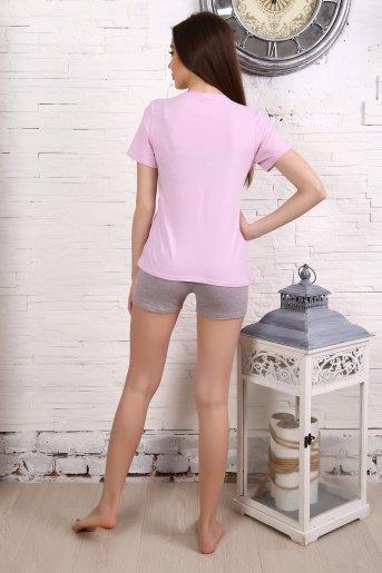 Пижама 12847 (N) (Розовый) (Фото 2)