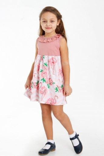 Платье Эйприл детское (N) (Сухая роза) - Злата