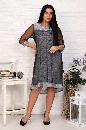 Платье 25001 (N) (Серый) - Злата