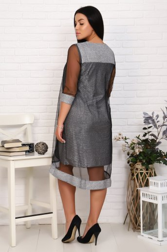 Платье 25001 (N) (Серый) (Фото 2)