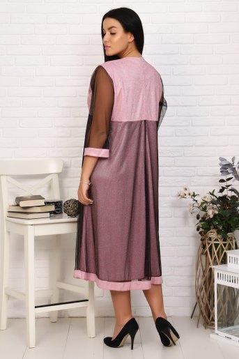 Платье 2399 (N) (Розовый) (Фото 2)