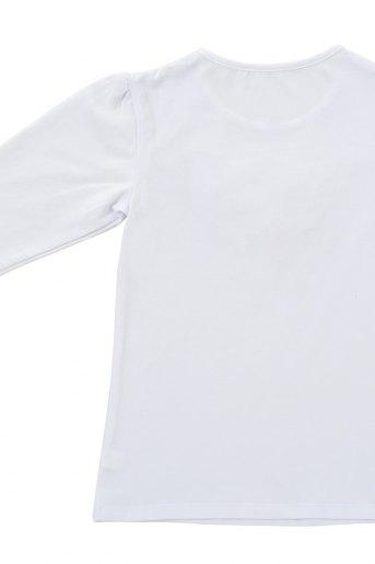 Джемпер Мажирель рукав 3/4 (N) (Белый) (Фото 2)