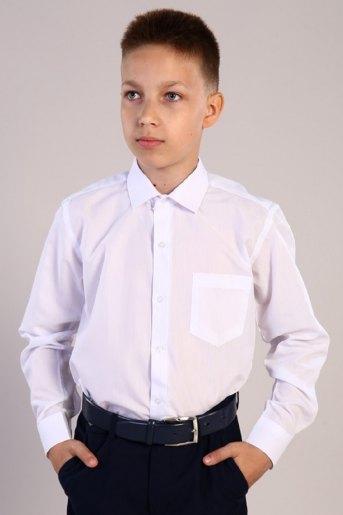 Рубашка Белая классика детская дл. рукав (N) (Белый) - Злата