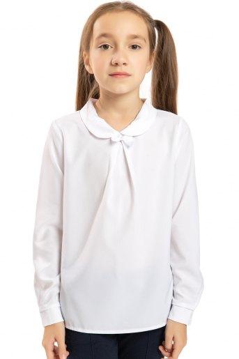 Блузка Классики дл. рукав (N) (Белый) - Злата