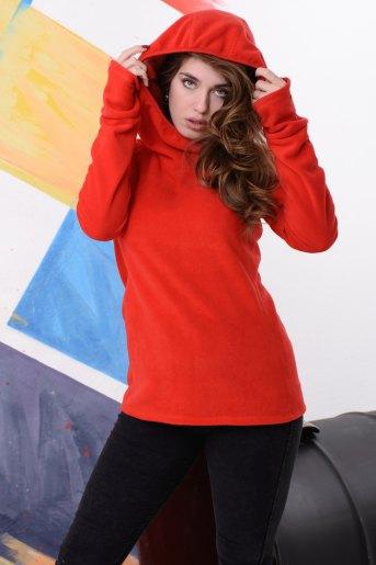 Толстовка 10825 (N) (Красный) - Злата