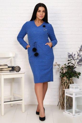 Платье 25004 (N) (Синий) - Злата