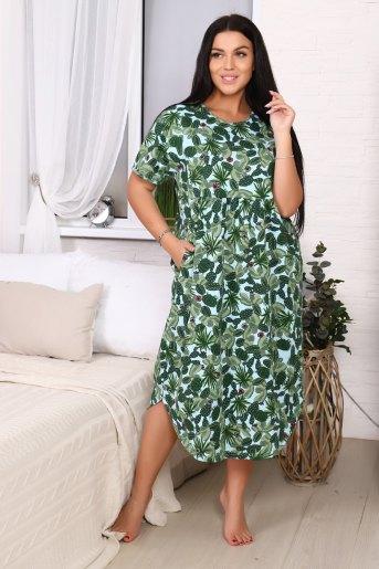 Платье 11547 (N) (Зеленый) - Злата