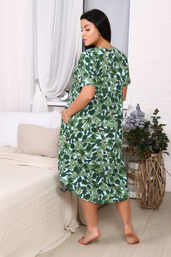 Платье 11547 (N) (Зеленый) (Фото 2)