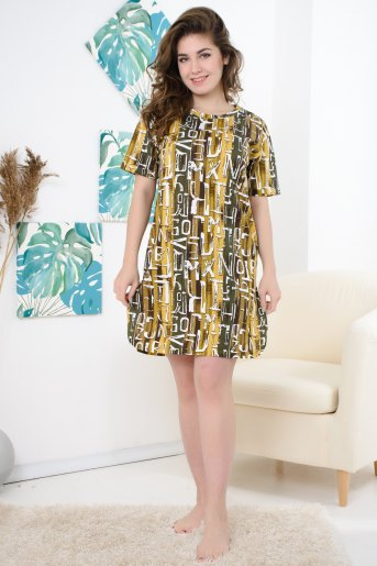 Платье 10540 (N) (Буквы) - Злата