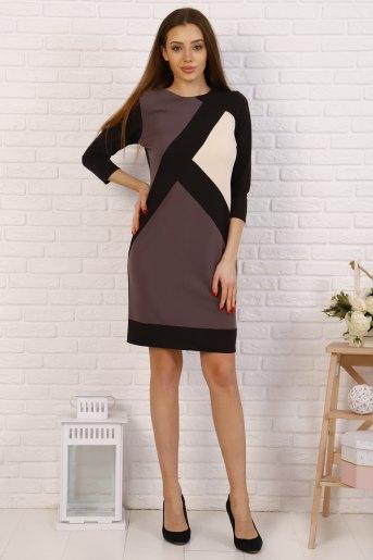 Платье 10375 (N) (Молочный) - Злата