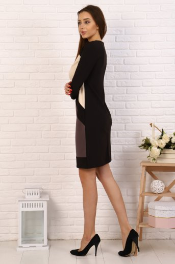 Платье 10375 (N) (Молочный) (Фото 2)