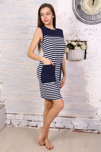 Платье 5706 (N) (Полоса) - Злата