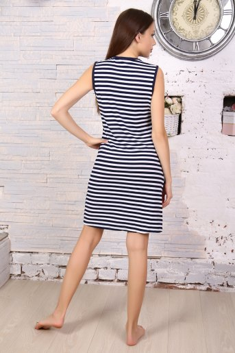 Платье 5706 (N) (Полоса) (Фото 2)